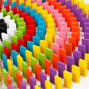 Dětské barevné domino