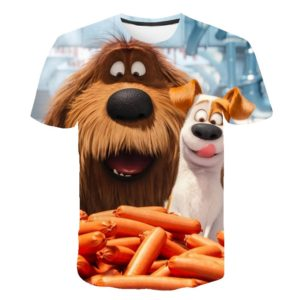 Dětské roztomilé tričko s potiskem Animáka