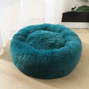 Plyšový načechraný pelíšek pro vaše mazlíčky