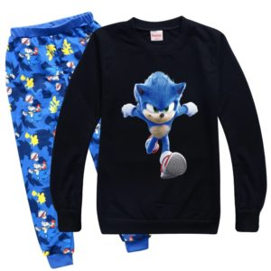 Dětské pyžamo Sonic pro chlapce i děvčata