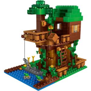 Dětská stavebnice Tree House s figurkami