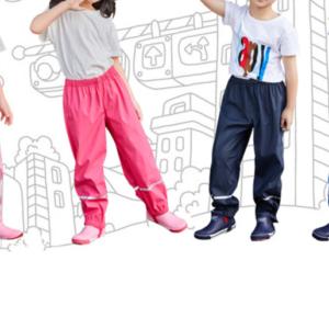 Dětské prodyšné nepromokavé kalhoty - unisex