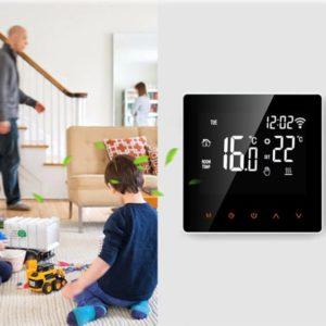 Chytrý bezdrátový pokojový termostat ke kontrole vytápění