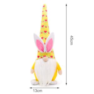 Krásná Velikonoční dekorace - skřítek s ušima