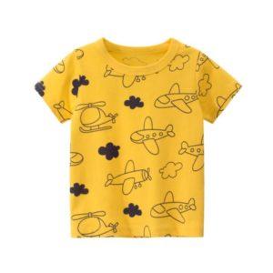 Chlapecké triko s krátkým rukávem - zvířecí motivy