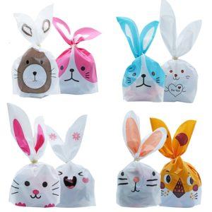Velikonoční sáčky na sladkosti s motivem králíčka 50ks