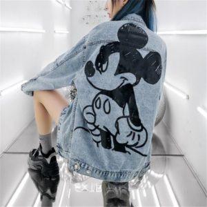Dámská džínová bunda Disney - Mickey Mouse