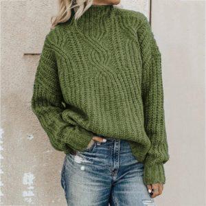 Nádherný pletený svetr Annastazia
