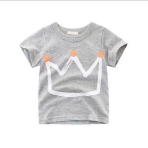 Dívčí tričko s potiskem korunky
