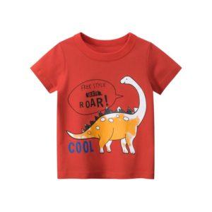 Dětské tričko s krátkým rukávem a potiskem