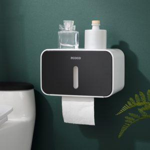 Vodotěsný koupelnový úložný box na toaletní papír