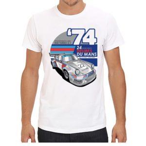 Pánské klasické triko pro milovníky aut