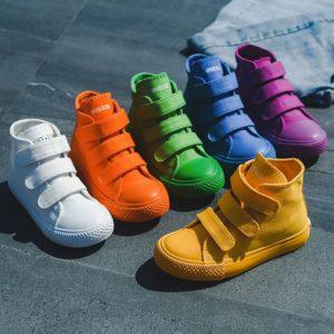 Dětské stylové barevné sneakers - kolekce 2021
