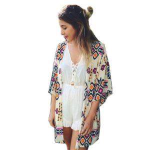 Dámská neformální košile v kimonovém stylu