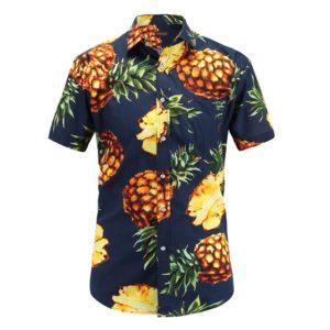 Pánská havajská košile s krátkým rukávem