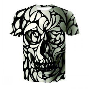 Pánské holografické tričko s krátkým rukávem