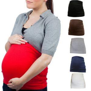 Dámský elastický těhotenský břišní pás