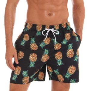 Pánské plavky s ananasem