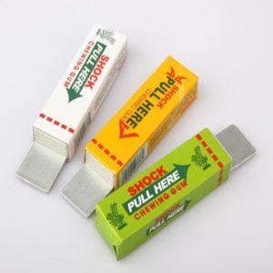 Elektrická dětská šokující žvýkačka jako hračka