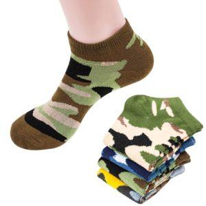 Sada 4 párů pánských maskáčových ponožek