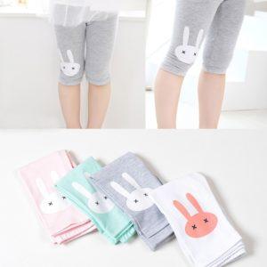 Dětské 3/4 roztomilé králičí bavlněné kalhoty