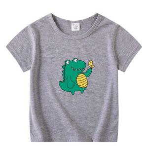 Chlapecké tričko s potiskem dinosaura