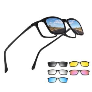 Polarizované sluneční brýle s magnetickým upínáním 5 v 1