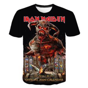 Stylové tričko Iron Maden