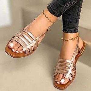 Dámské letní páskové sandály
