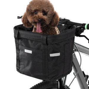 Vodotěsný košík pro psy na kolo