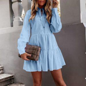 Dámské prodyšné krátké letní šaty Nina