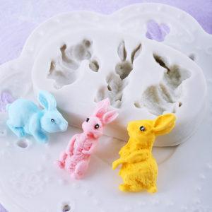 Silikonová velikonoční formička se zajíčky