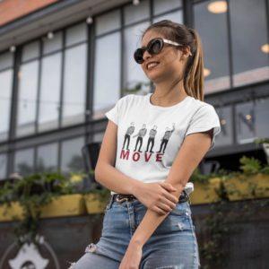 Dámské trendy triko s krátkým rukávem Nela