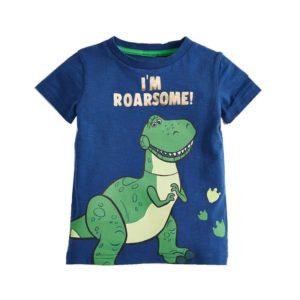 Chlapecké tričko s dinosaurem