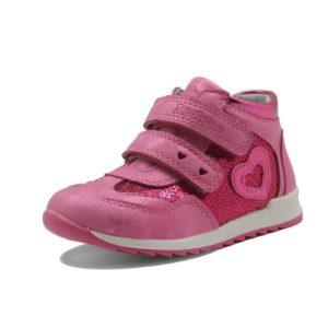 Dívčí jarní koženkové boty s protiskluzovou podrážkou